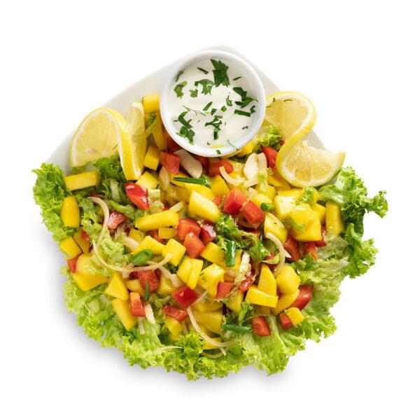 Salata cu salsa de mango
